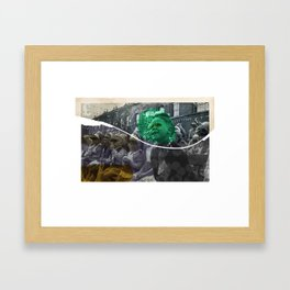 ASPIRATION// Framed Art Print