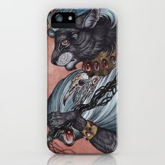 Jack of Spades art print iPhone SE Slim Case