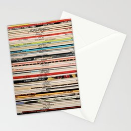 Blue Note Jazz Vinyl Records Stationery Cards
