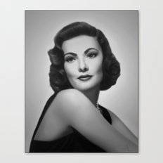 Black Velvet Canvas Print