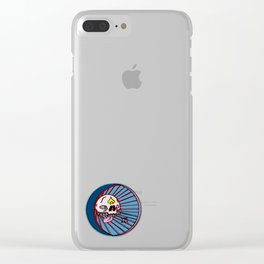 SKULLO Clear iPhone Case
