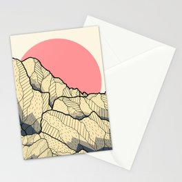 A new autumn hill Stationery Cards