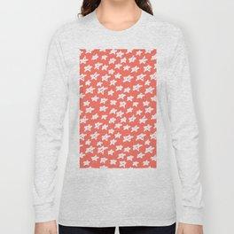 Stars Living Coral Long Sleeve T-shirt