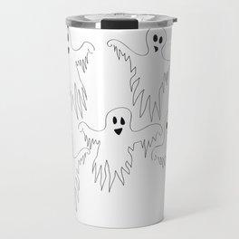 Ghost Monster Halloween Travel Mug