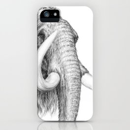 Cabeza de mamut iPhone Case