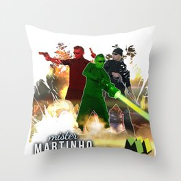 Mister Martinho - Artist - Design 5 Throw Pillow