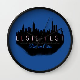 Elsie Fest NYC Wall Clock
