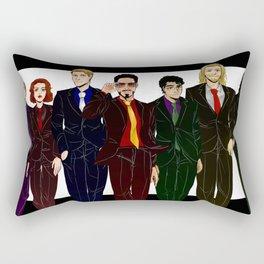 Suitvengers Rectangular Pillow