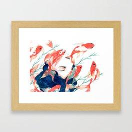 Koi Framed Art Print