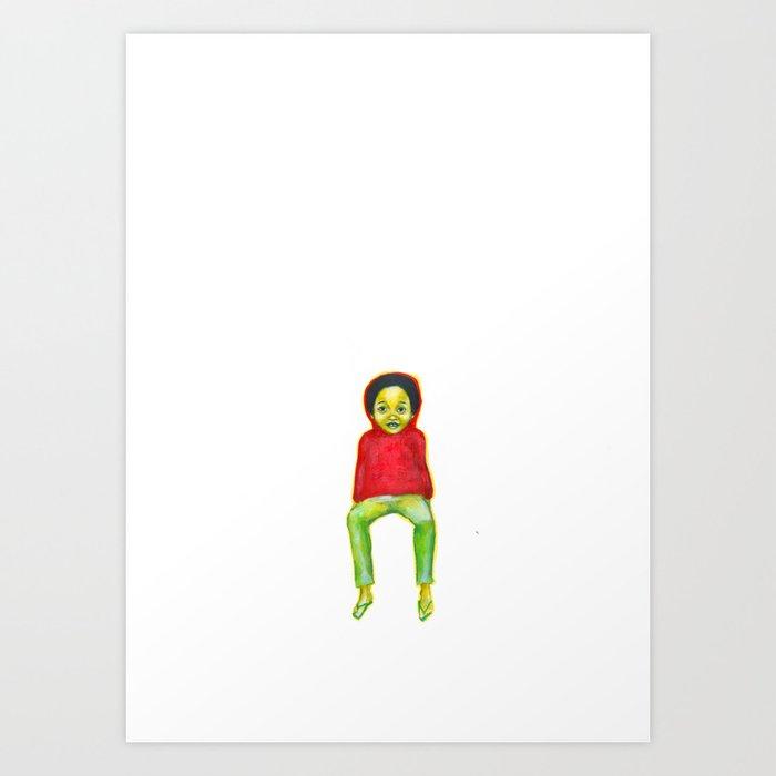 Les petites filles II.4 Art Print