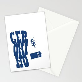 Geronimo Doctor Who Stationery Cards