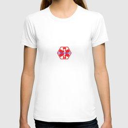 MEDICAL ALERT kidney failure Identification tag T-shirt