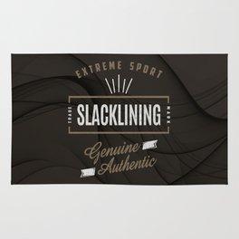 Slacklining Extreme Sport Rug