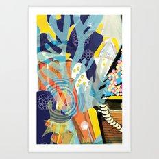 Aquatic 2 Art Print