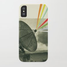 Earth Calling iPhone X Slim Case