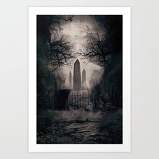 Wicked Season Art Print