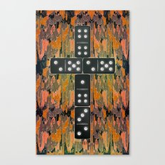 Holy Domino Canvas Print