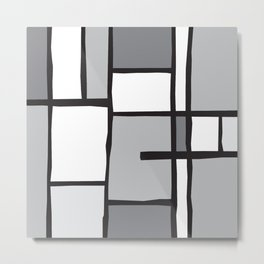 Mondrian Variation 3 Metal Print