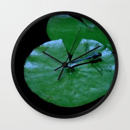 Landing Pad Wall Clock