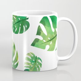 Monstera Plant Coffee Mug