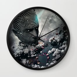 Northern Sky Wall Clock