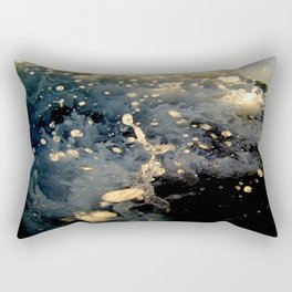 Message from the sea 11 / Hopping wave Rectangular Pillow