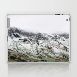 Littledale Edge and snow. Honister Pass, Cumbria, UK. Laptop & iPad Skin