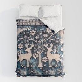 Christmas deer 6 Comforters