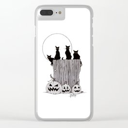 The Night Watch Clear iPhone Case