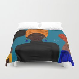 afrocentric Duvet Cover