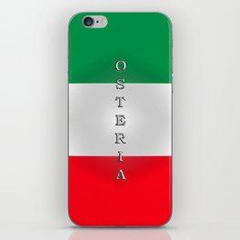 Italia Osteria iPhone Skin
