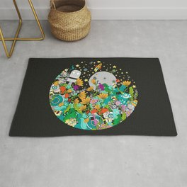Fantasy kids world Rug