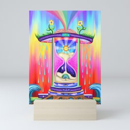 Traveling Through Sands of Time Mini Art Print