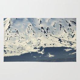 Mount St. Helens at Sunset Rug