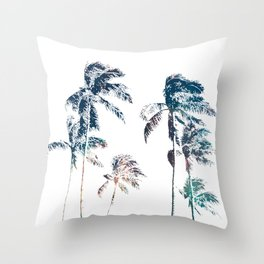 Stellar Palms Throw Pillow