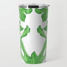 GREEN HEART  Travel Mug