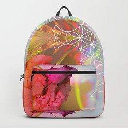 Quartz rAiNbOw Skye LiGhT Mandala 01 - 01 Backpack