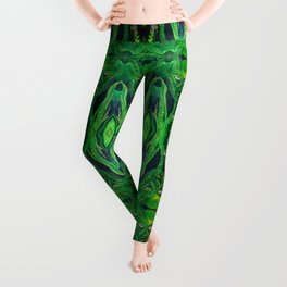 Garden Gardian Gnomes and Fairies Leggings