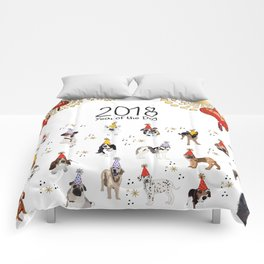 Year of the Dog 2018 Comforters