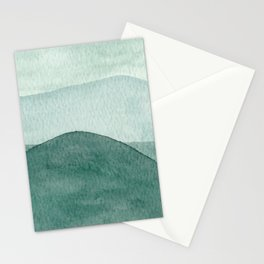 Green Mountain Range Stationery Cards