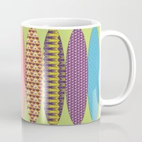 surfing Mugs featuring Surfing? by DesignsByMarly