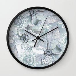 Lil' Garden Party - Storm Wall Clock