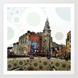Downtown Cleveland Art Print