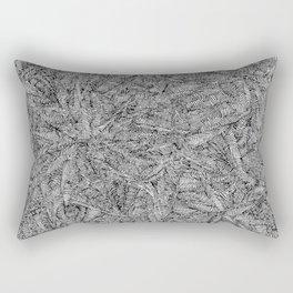 Ebon Frost Rectangular Pillow