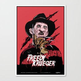 Freddy Krueger Canvas Print