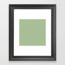 U14: algae chevron Framed Art Print