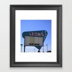 Leon's Framed Art Print