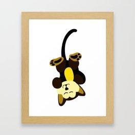 Keep Dreaming Little Puppy Framed Art Print