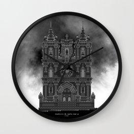 HexArchi - Portugal, Alcobaça, Mosteiro de Santa Maria . Igreja Wall Clock