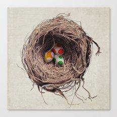 Yoshi Eggs Canvas Print